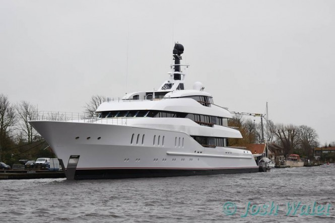 Brand new Vanish - Photo by Josh Walet and Feadship Fanclub