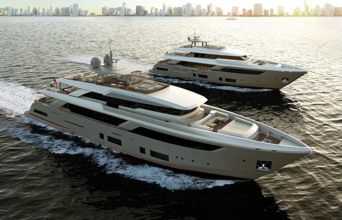 Custom Line fleet - Navetta 42 & Navetta 37