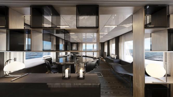 Ferretti Yachts 850 - saloon