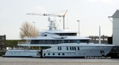 First AMELS 242 Project FREEFALL - Image by Dutchmegayachts