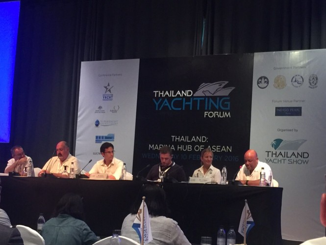 Gordon Fernandes Asia Pacific Superyachts at Thailand Yacht Forum
