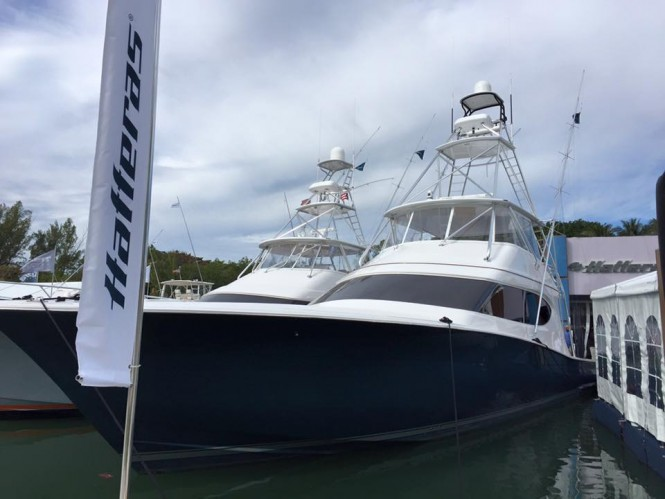 Hatteras at Yachts Miami Beach 2016