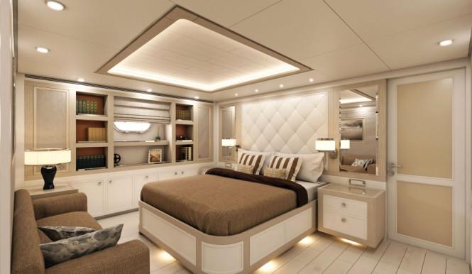 Hull F76 - VIP Cabin