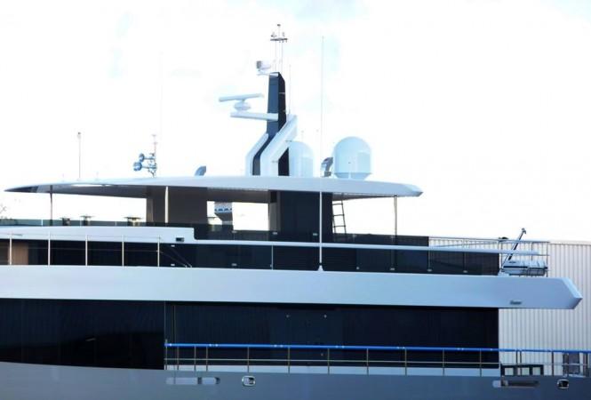 Luxury yacht Hull 692 - Photo by Hanco Bol and Feadship Fanclub