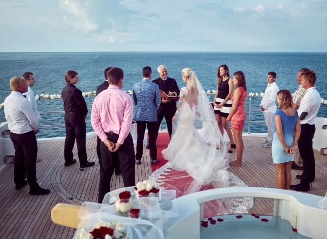 MY SEANNA wedding ceremony