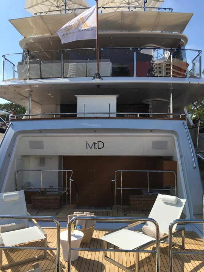 Mr D by Benetti at Yachts Miami Beach 2016
