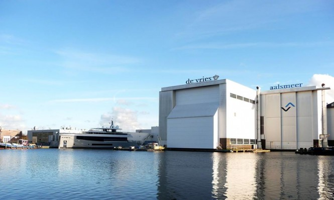 New Hull 692 by Feadship - Photo by Hanco Bol and Feadship Fanclub