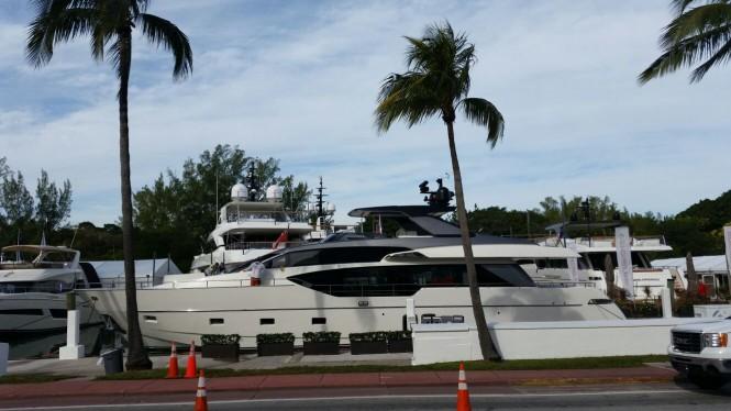 New SL 86 by Sanlorenzo at the 2016 Yachts Miami Beach