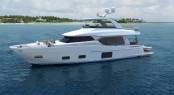 Ocean Alexander 70E - Profile with Swim Platform