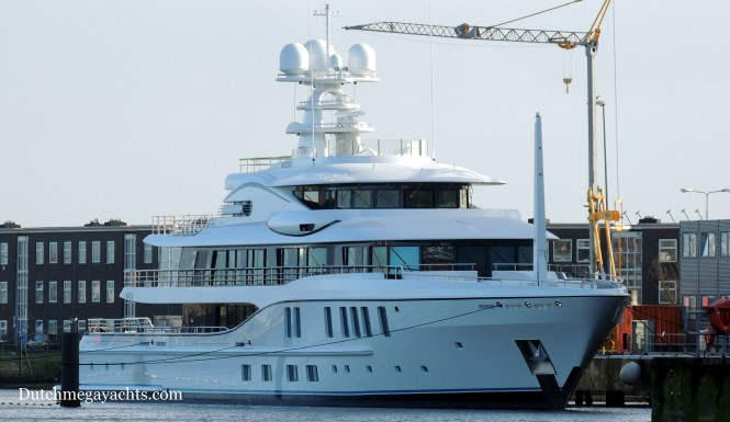 Project FREEFALL in Vlissingen, the Netherlands - Photo by Dutchmegayachts