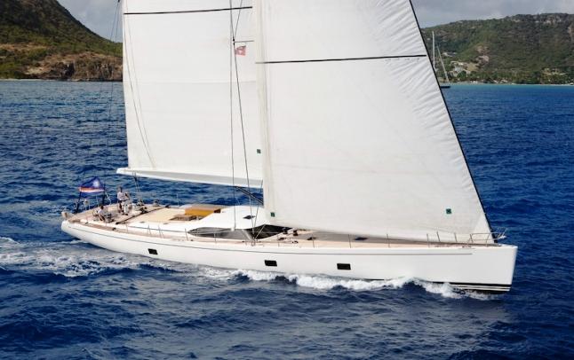 Sailing yacht Rapture