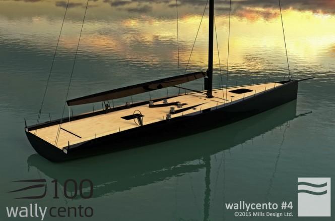 Rendering of WallyCento hull no. 4