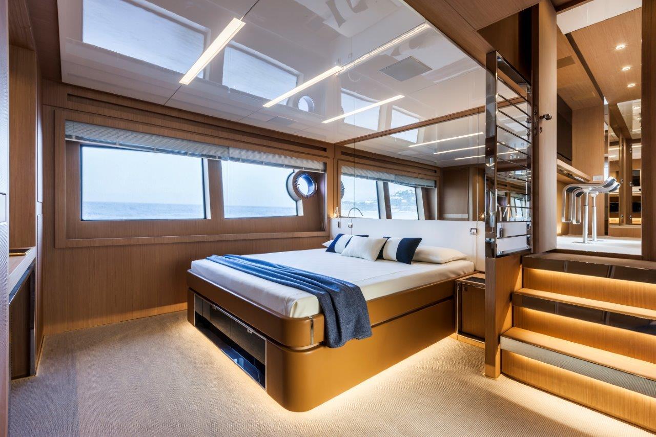 riva 88 florida interior yacht charter superyacht news. Black Bedroom Furniture Sets. Home Design Ideas
