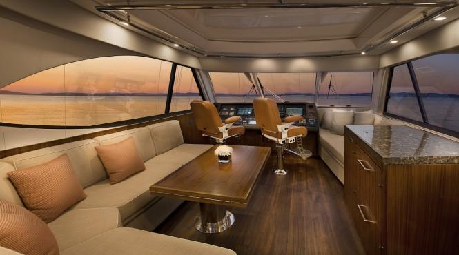 Riviera 77 - flybridge