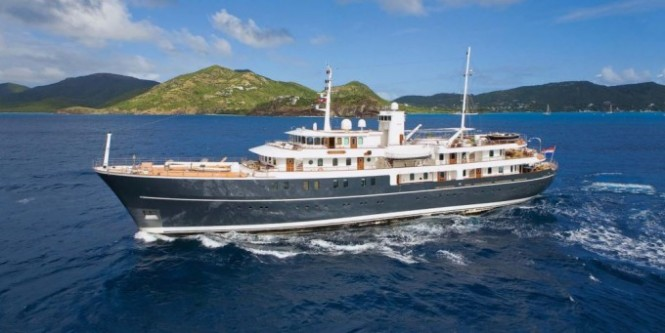 SHERAKHAN offering event charters in the Western Mediterranean