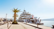 Superyacht Golden Odyssey at Porto Montenegro