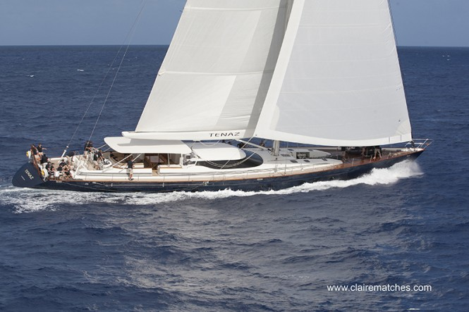 Tenaz underway - Photo by clairematches.com