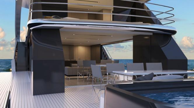 Top Deck 40m Exterior Closeup