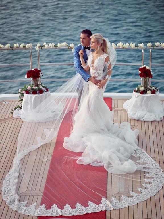Unforgettable wedding ceremonies aboard MY SEANNA
