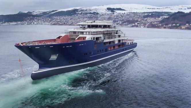 116m KLEVEN Mega Yacht Support Vessel - Foto Berge Myrene