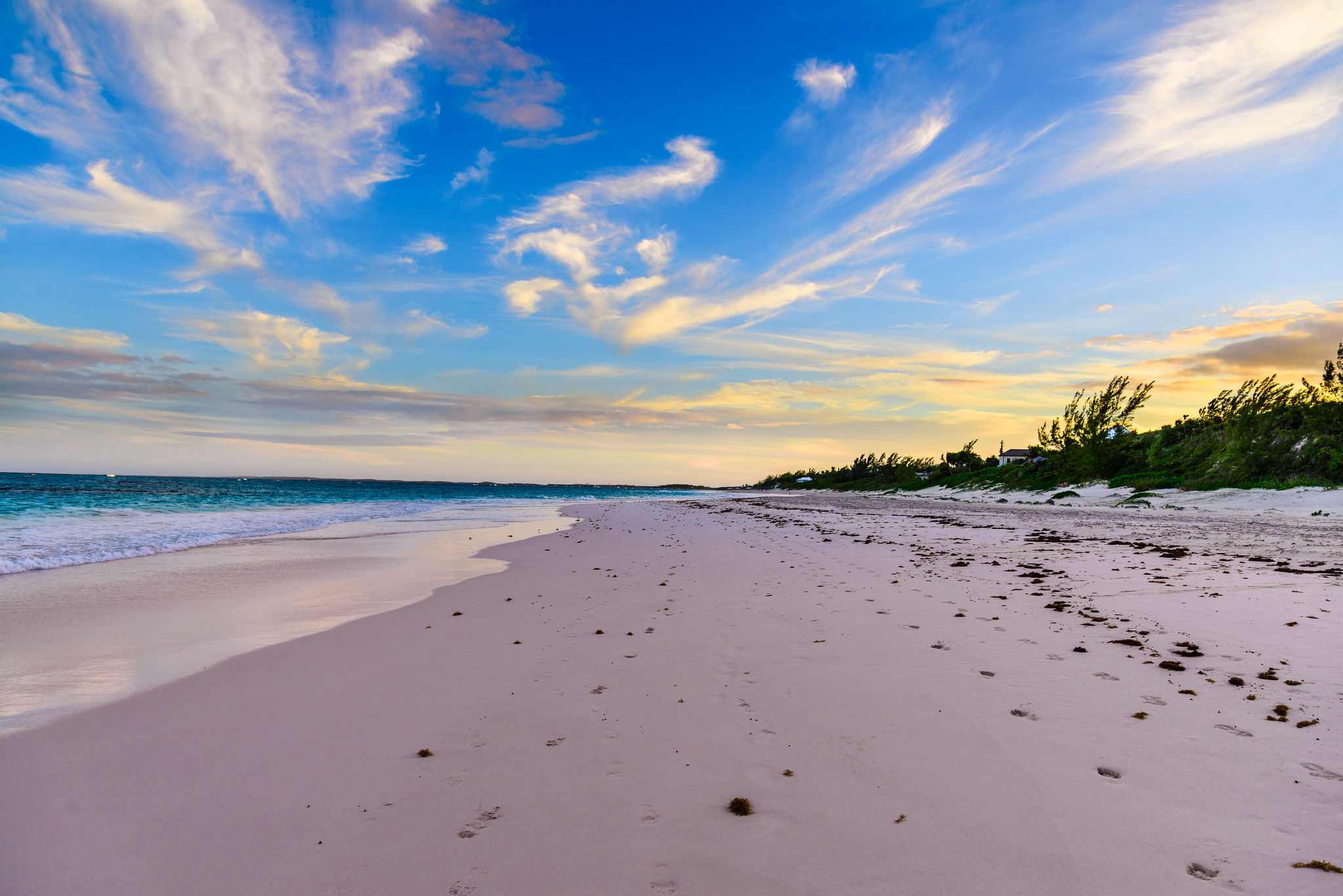 Top 10 Caribbean Beaches: Pink Sands, The Legendary Harbour Island Beaches. Photo By