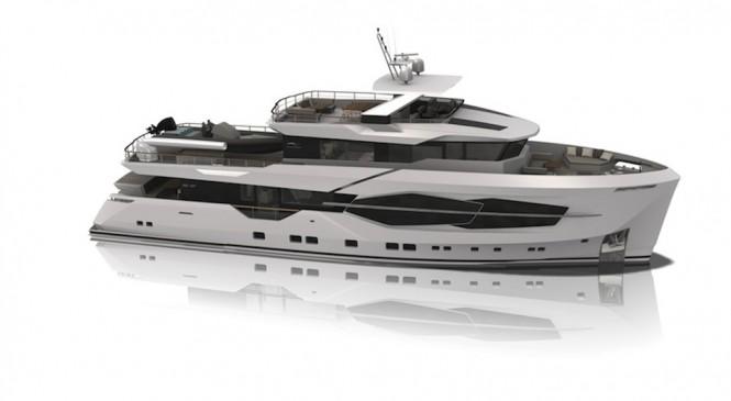 32XP yacht by Numarine