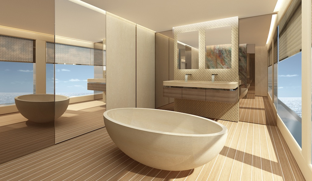 By M2atelier Bathroom Luxury Yacht Charter Superyacht News