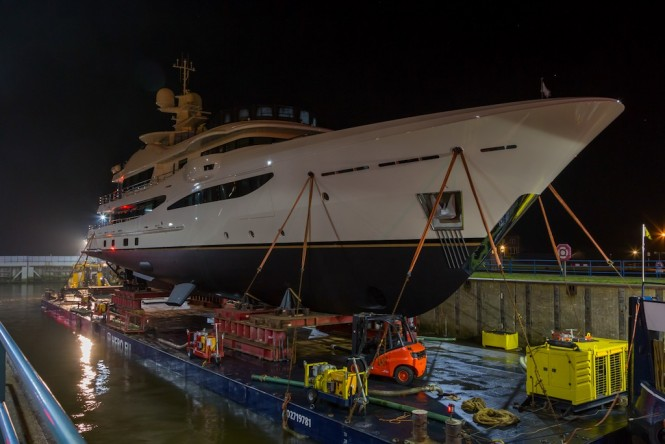 AMELS 55m - Early pre-launch preparations
