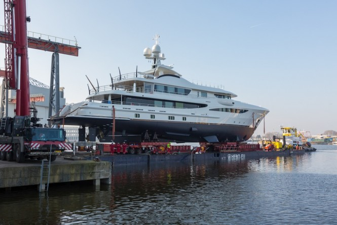 AMELS 55m ready to hit the water
