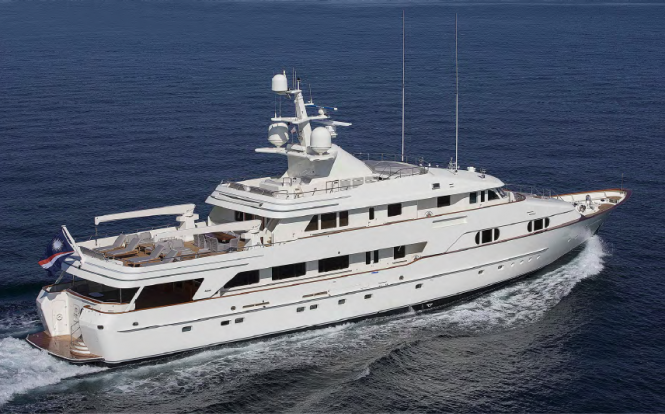 BG superyacht (ex Charade)