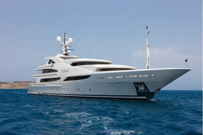 Yacht ST DAVID (ex St Ekaterina, XANADU) - Benetti Yacht
