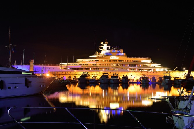 Superyacht Dilbar. Photo by Christo 303