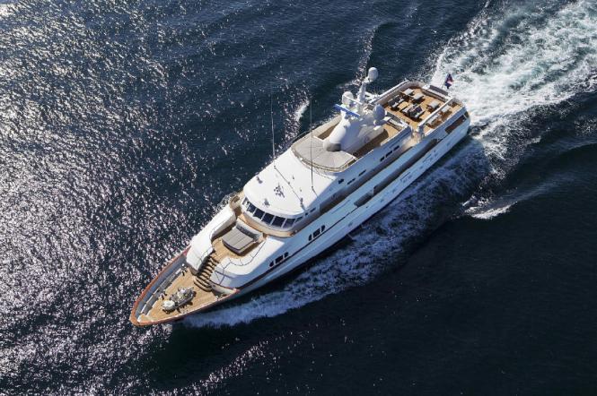 Feadship-built BG (ex Charade)