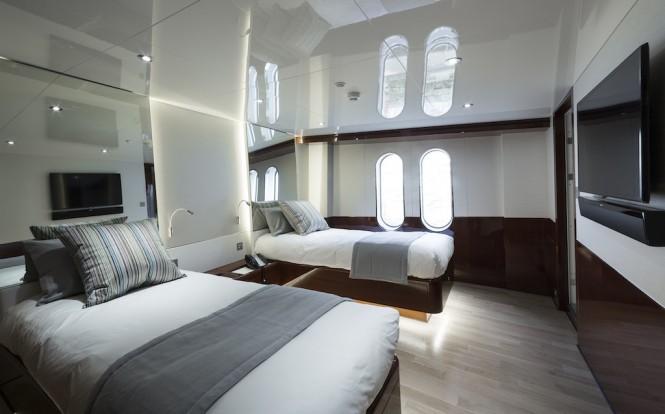 Guest Twin Cabin ©Guillaume Plisson