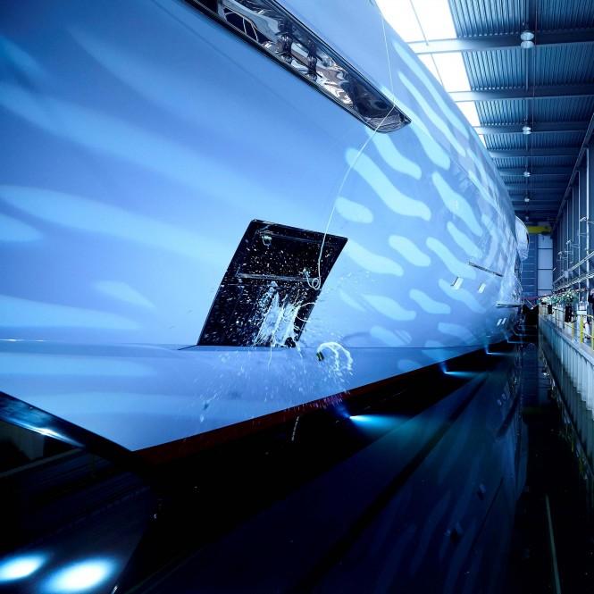 Heesen GALACTICA SUPER NOVA yacht christening - Dick Holthuis