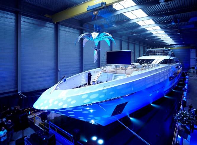Heesen superyacht GALACTICA SUPER NOVA christening -  Dick Holthuis