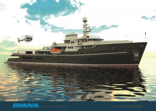 LEGEND - Diana Yacht Design