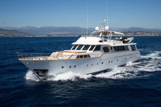 LIBERTUS available for charter in Sicily