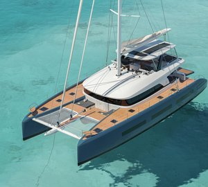 Exterior Images for the New Lagoon SEVENTY 7 Catamaran Yacht