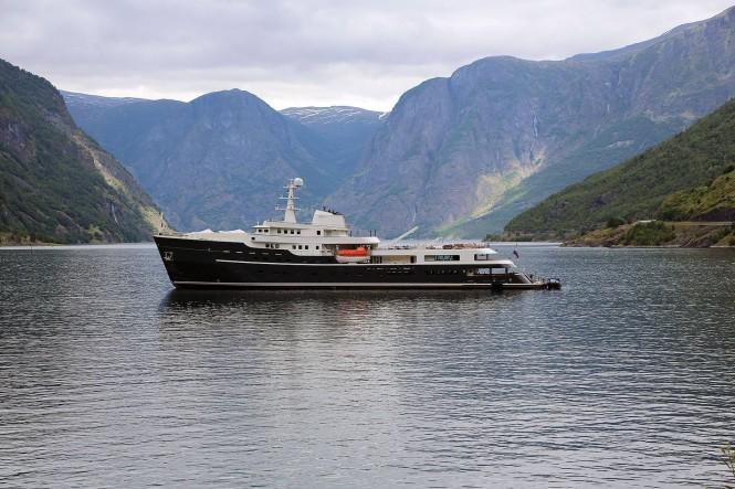 Superyacht Legend. Photo Credit Tomas Østberg- Jacobsen