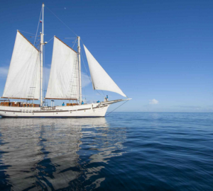 Fabulous RAJA LAUT Schooner available for Southeast Asia Sailing Vacations in Indonesia & Komodo this Summer