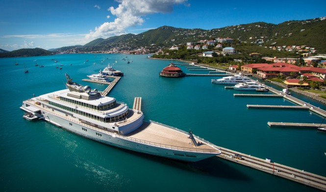 St. Thomas: Rising Sun Super Yacht. Photo by Scott Smith