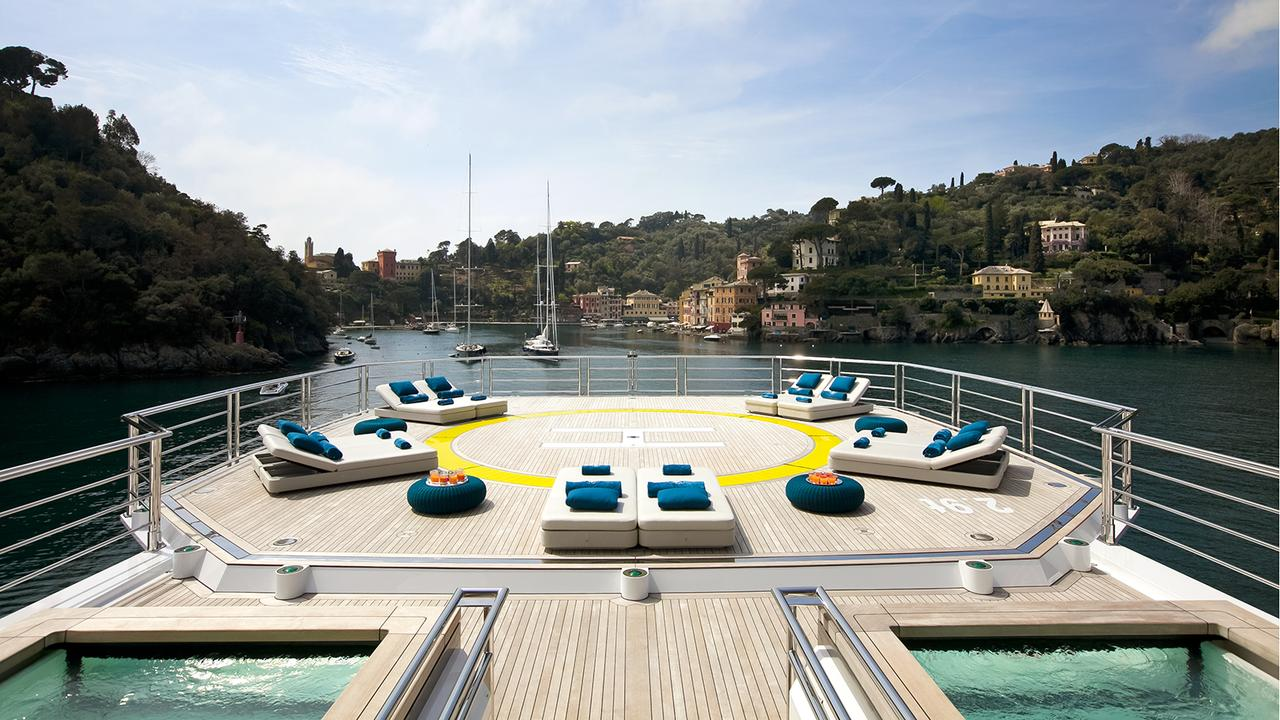 The Hottest Helicopter Decks on Private Yachts — Yacht ...