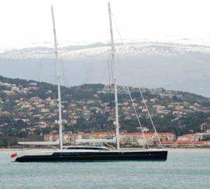 World Largest High-Performance Ketch 85m AQUIJO delivered