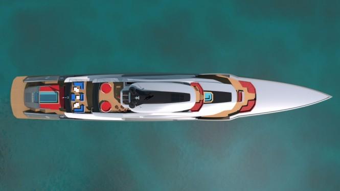 The Bilgin, project 263 by the Zuccon Superyacht Design