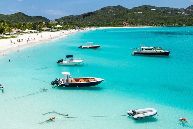 Top 10 caribbean beaches yacht charter superyacht news for St barts in the caribbean