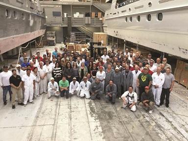 2016 Christensen Shipyards' Employees