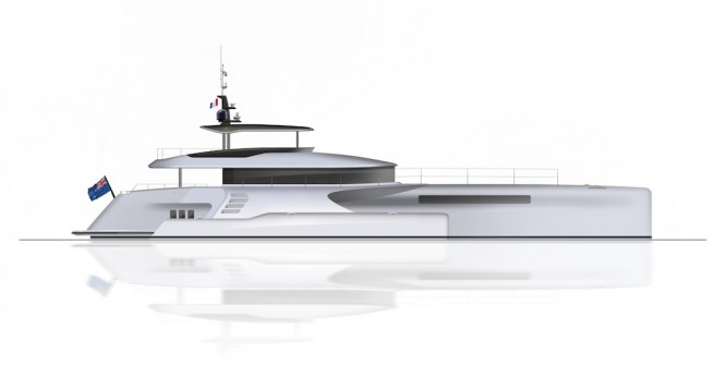 32m Power Trimaran V75