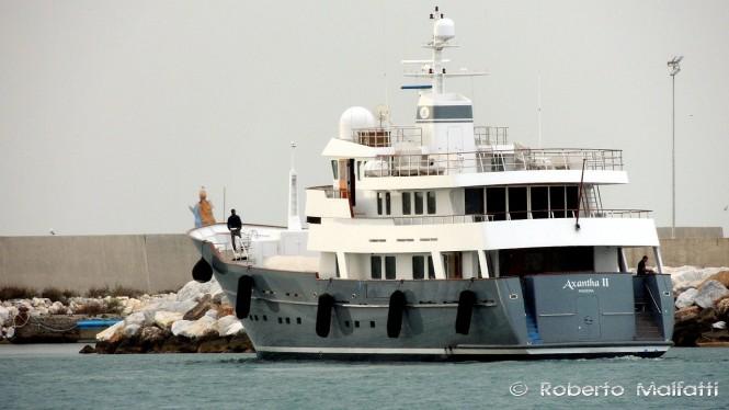 AXANTHA II in Livorno