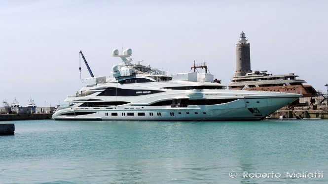 Benetti Superyacht FB 262  - Photo by Roberto Malfatti